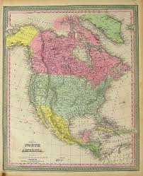 Map Of Russia And Alaska by Prints Old U0026 Rare North America Page