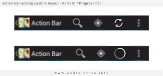 android bar android working with bar tutorial