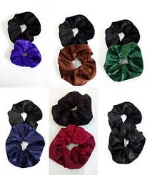 elastic hair bands 2 pack velvet feel hair scrunchies elastic hair bands handmade