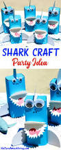 shark craft a perfect under the sea party idea