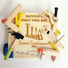 personalised child u0027s wooden tool box eternal impressions