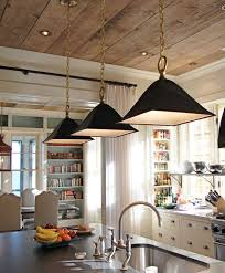 wood ceiling w recessed lighting and crown molding ueco bookshelves black pendant lights wood ceiling kitchens great idea for low ceiling then use stone on the floor