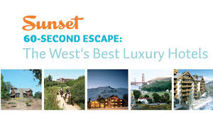 best hotels in the west sunset