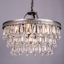French Chandeliers Uk Aliexpress Com Buy Vintage Big Glass Drops Led Crystal Iron