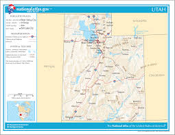 Utah National Park Map by Utah Facts National Parks Landmarks And Pictures Geography