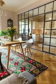 cloison vitree cuisine la cloison en verre est un moyen élégant d organiser l intérieur