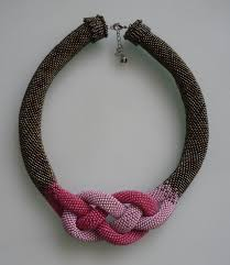 crochet beading necklace images Crochet necklace 25 crocheting crocheting jpg