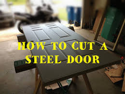 Steel Clad Exterior Doors How To Cut And Resize A Steel Clad Entry Door 5 Steps