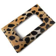 shop leopard print plates on wanelo