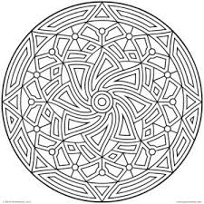 geometric coloring pages geometric patterns for kids to color kids