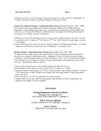 Sample Resume For Hotel Management Job by Ross Feldstein Resume 18