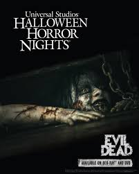 halloween horror nights hollywood map evil dead universal studios halloween horror nights info from fede