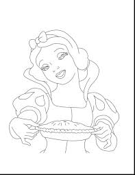 snow white colouring pages pictures print princess