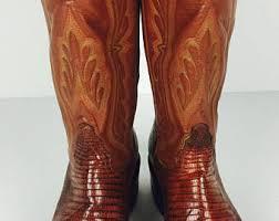womens vintage cowboy boots size 9 vintage cowboy boots etsy