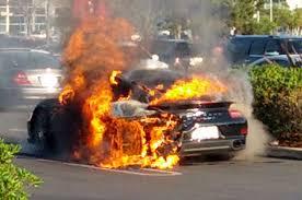 orange porsche 911 turbo watch this 200 000 2014 porsche 911 turbo s burn to the ground