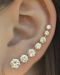 one ear earring 16 best dreamy ear baubles images on jewellery