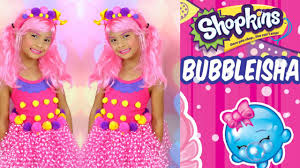 Real Life Halloween Costumes Diy Shopkins Costume Shopkins Shoppies Doll Bubbleisha Dress Up