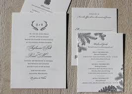 wedding invitations cork winter wedding invitations sesame letterpress design