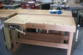 Work Bench With Vice David Barron Furniture Ulmia Work Bench