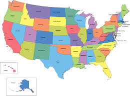Map Of The Usa With States by Filemap Of Usa Without State Namessvg Wikimedia Commons