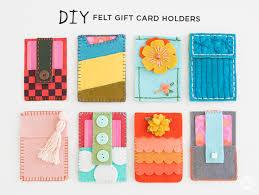 create a gift card fresh felt gift card holders think make