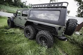 6 колесный Jeep Wrangler Hauk Designs Llc готов пугать соседских