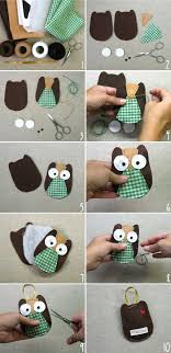diy owl ornament heartmade