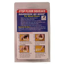 Hardwood Flooring Sealer Squeeeeek No More Hardwood Squeak Elimination Kit 3232 The Home