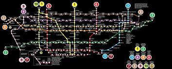 Ttc Subway Map Fictional Ttc Subway Map By Ttrucker On Deviantart