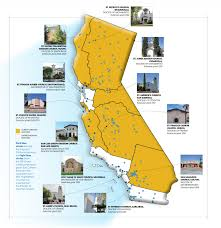 Map Of Long Beach California Our Long History Supporting California U0027s Mission Churches