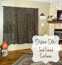 Simple Curtains For Living Room Homesteading Wife Sewing Lined Curtains