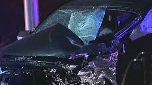 powerful kent crash knocks engine out of car komo