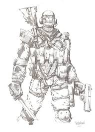 wicked thread modern warfare 2 ghost free coloring pages free