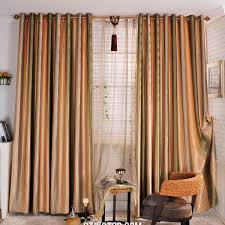 Blue Striped Curtains White And Gold Striped Curtains Home Decoration Ideas