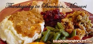 many branson mo restaurants open on thanksgiving day 2015