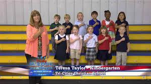 tri city halloween event daily pledge of allegiance teresa taylor u0027s kindergarten class