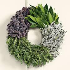 herb wreath cook s herb wreath williams sonoma