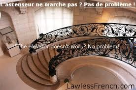 Handrail Synonym Pas De Problème Lawless French Expression No Problem