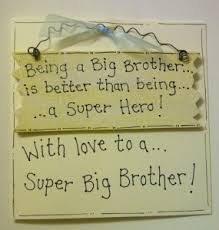 big brother birthday card card with gift plaque angels in the