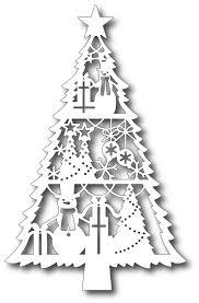 tutti designs cutting die holiday spirit tree