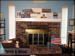 home decor simple how to update a fireplace small home