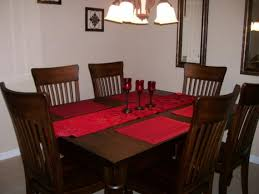 red dining room table runner u2022 dining room tables ideas