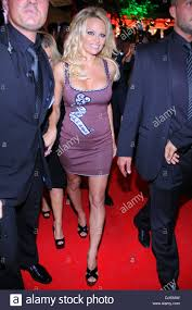 pamela anderson at the launch party at playboy club cologne