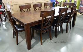 Costco Furniture Dining Room The Attractive Costco Furniture Dining Set With Regard To Property