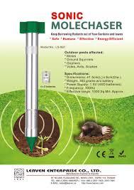 outdoor table ls battery operated pest repeller animal repeller manufacturer leaven enterprise co