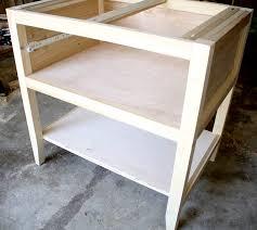 Nightstand With Shelves Diy Bedside Table Nightstand