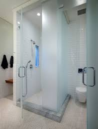 Shower Doors San Francisco San Francisco Sliding Glass Shower Doors Bathroom Contemporary