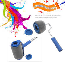 what type of paint roller to use on kitchen cabinets 6pcs paint brush set household seamless new drum type paint