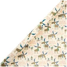 moose wrapping paper wide christmas wrapping paper japercom wrapping paper as wall