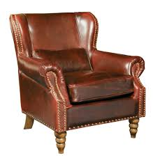 furniture traditional brown wingback chairs design for your
